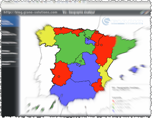 Map4Strategy + Microstrategy = Spain Visual Report